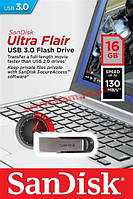 USB накопитель 3.0 SanDisk Flair 16GB (SDCZ73-016G-G46)