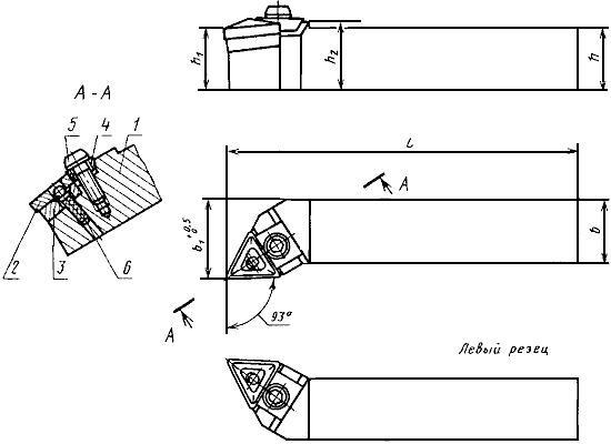 Преймущества и недостатки резцов с механическим креплением пластин