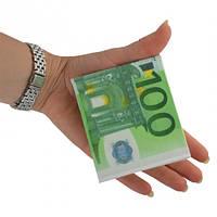 Кошелек в виде купюры 100 евро, 100 дол, и тд денежный кошелек
