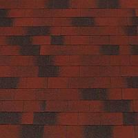 Битумная черепица Eco Roof (Эко Руф) Rectangular-Red, Харьков