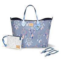 La Millou - сумка для мам Dream Catcher Grey (Ловец снов), фото 1