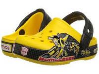 Оригинальные крокс Crocs Boys' CB Transformers Bumblebee Clog