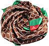 Женский платок Gucci 25256 коричневый (реплика), фото 2