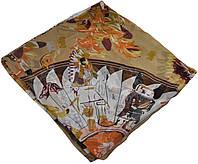 Женский платок Hermes 25407 племя бежевый