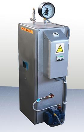 Парогенератор электродный АПЭ30 40 кг/час,30 кВт, 380 В,4 атм