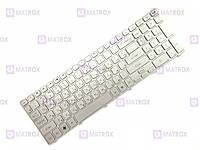 Оригинальная клавиатура для ноутбука Packard Bell EasyNote TV11-CM-84508G50Mnks series, silver frame, ru