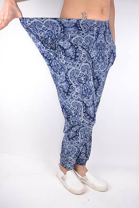 Летние тонкие брюки галифе БАТАЛЫ р.48-56 (NA401) | 12 пар, фото 2