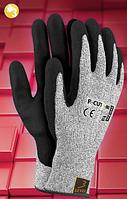 Перчатки из нейлона с нанесением нитрила R-CUT3-NI, фото 1