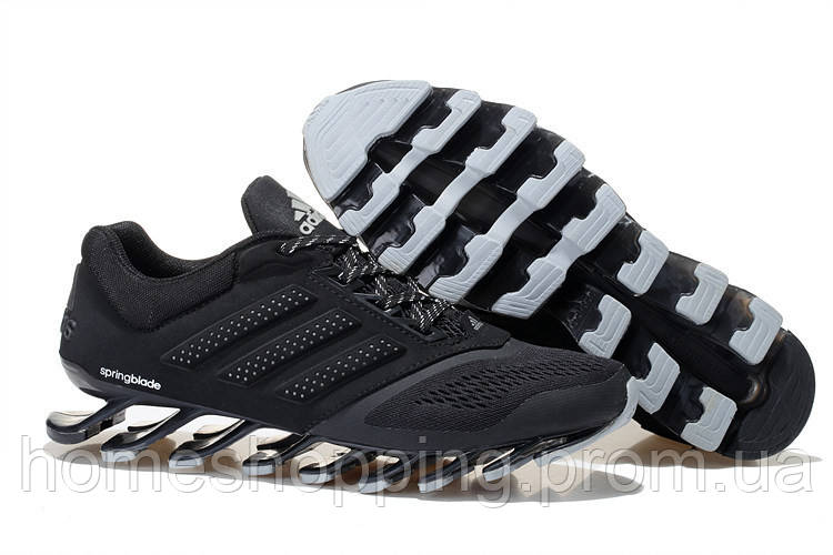 Кроссовки Adidas Springblade Drive 2.0 Men (Black/Grey)