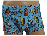 Трусы - шорты для мальчика 122, голубой
