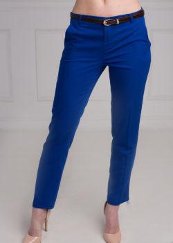 Укороченные женские брюки Меган. Брюки синего цвета