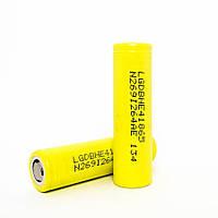 Высокотоковый аккумулятор литиевый LG 18650 2500 mAh (HE4) 20А