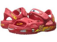 Оригинальные кроксы crocs Boys' Crocband II Cars Sandal