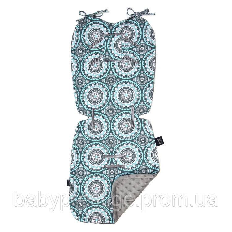 Вкладыш для коляски - La Millou - Mosaic,grey
