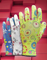 Перчатки из нейлона с нанесением нитрила RGARDEN-NI