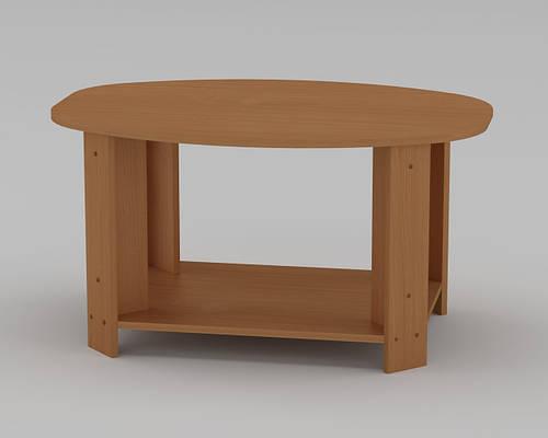 Журнальный столик Овал кромка АБС