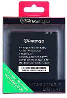 Батарея (акб, аккумулятор) для Prestigio MultiPhone 5000 / PAP5000 (2200 mAh) оригинал