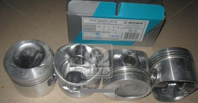 Поршни ВАЗ 21213 2123 Автрамат 82,0 Е комплект 21213-1004015 E