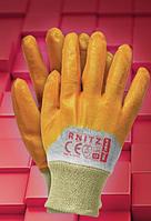 Перчатки из нейлона с нанесением нитрила RNITZ