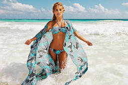 Летняя пляжная одежда (парео, туники, сарафаны, банданы)