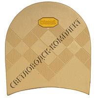 Набойка резиновая мужская BISSELL, art.RB613, цв. бежевый (желтый лого)