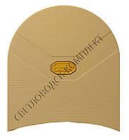Набойка резиновая мужская BISSELL, art.620L, цв. бежевый (желтый лого)