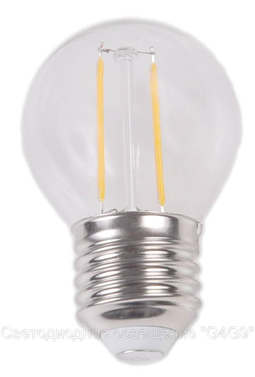 Светодиодная лампа Е27 2W 3000K