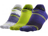 Спортивные носки Nike WOMEN'S DRI FIT GRAPHIC SX4877-953 (3шт)
