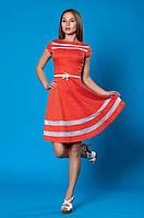 Очаровательное платье в горох
