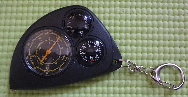 Курвиметр з компасом і термометром LX-2
