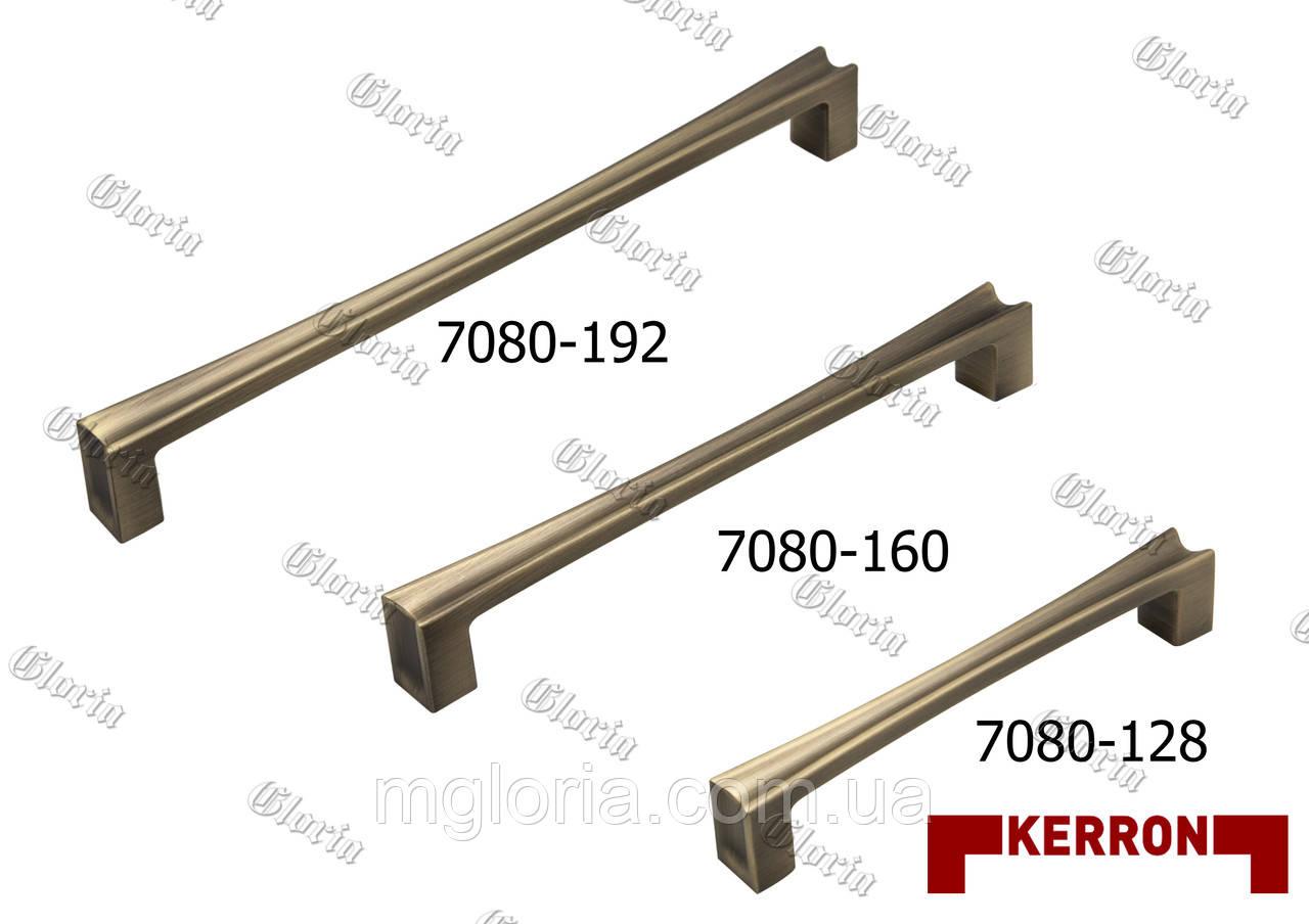 Ручки мебельные Kerron EL-7080 MAB