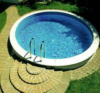 Збірний каркасний басейн MILANO 5,0 х 1,2 м, фото 1