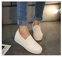 Классические женские мокасины на плоской подошве. Качественная обувь. Удобные и практичные слиперы. Код: КД151