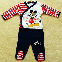 Пижама штанишки-распашонка Микки Маус Disney