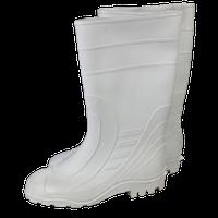 Сапоги резиновые белые