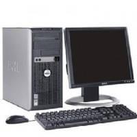 Комплекты: монитор, системный блок, мышь и клавиатура б/у