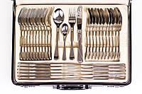 Набор столовых приборов c серебряной поверхностью 72 предмета Zegg D-34