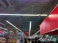 Освещение магазина. LED освещение торговых площадей. Светодиодное освещение магазина., фото 1