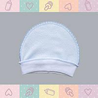 Чепчик для новорожденного -Колпачок для Мальчика, Хлопок-Ажур, , 0-3 месяцев, 0101Kay В наличии 56,62 Рост