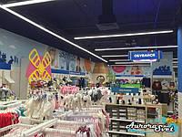 Освещение торгового зала