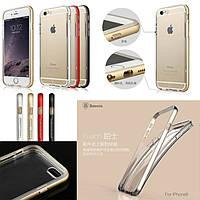 Чехол iPhone 6/6S Baseus Fusion bumper /gold/