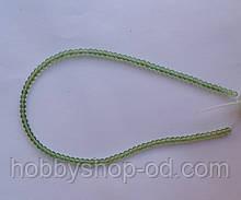 Намистина Куля колір св. зелений 3 мм
