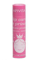 Apivita детский Био-Эко Бальзам для губ Принцесса пчелка, с абрикосом и пчелиным воском 4,4г