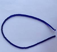 Бусина Шар цвет синий кобальт 3 мм