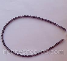 Намистина Куля колір фіолетовий 3 мм