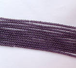 Бусина Шар цвет фиолетовый 3 мм, фото 2