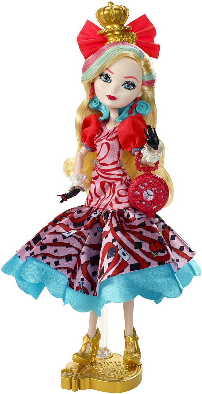 Кукла Ever After High Эппл Вайт из серии Дорога в страну чудес Way Too Wonderland Apple White