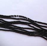 Намистина Куля колір чорний 3 мм, фото 2