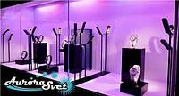 Ювелирное освещение. LED освещение ювелирных салонов. Светодиодное освещение ювелирных салонов., фото 1