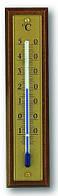 121008 Термометр комнатный TFA, 125х30мм красное дерево